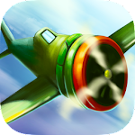 Cartoon Plane - Sky Voyage 3D Icon