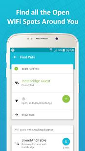 Instabridge - Free WiFi Screenshot 3