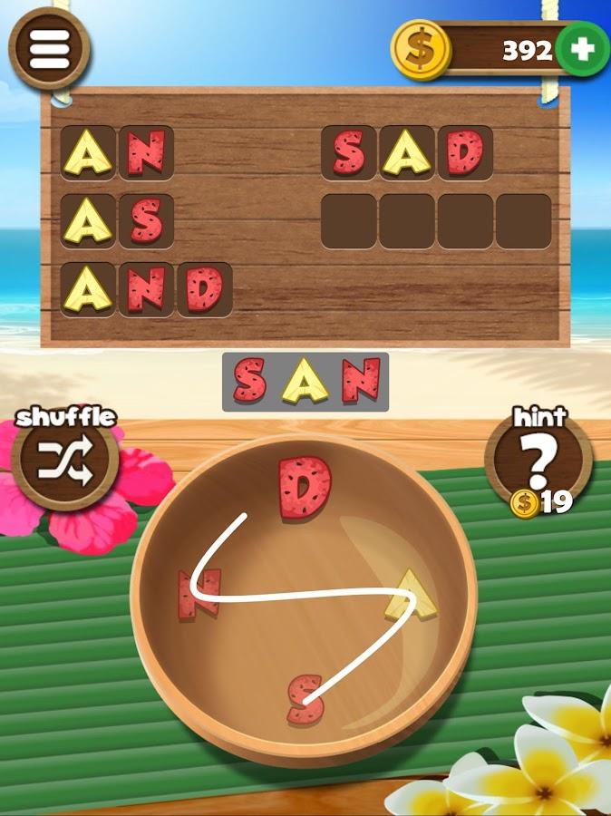 casino games list 4 letters