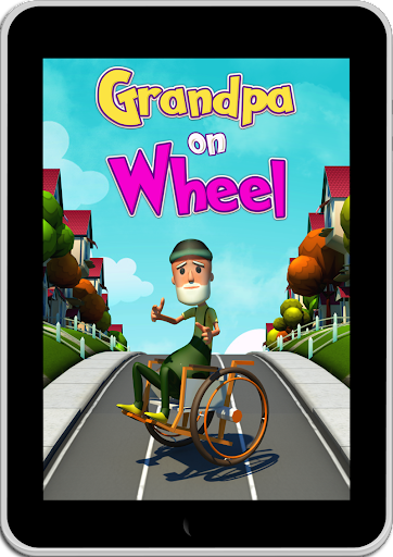 Grandpa On Wheel