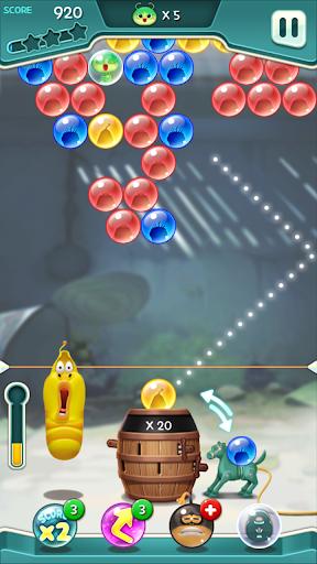 Larva Bubble Pop 1.0.9 screenshots 1