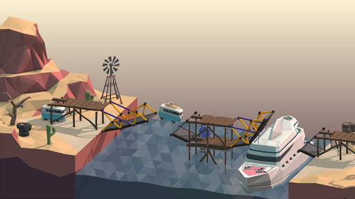 Screenshot for Poly Bridge in United States Play Store