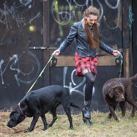 by Ferdinand Debnárik - Animals - Dogs Portraits