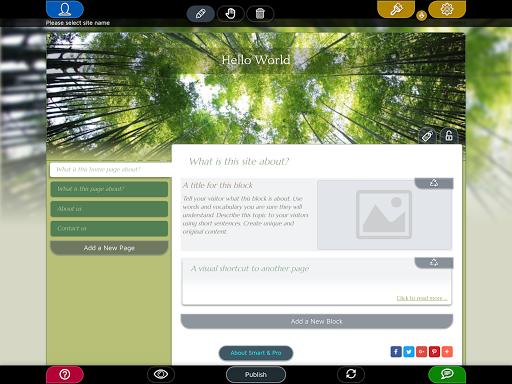 Website Builder for Android screenshot 11