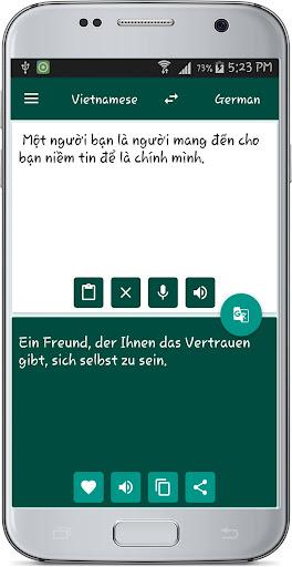 Vietnamese German Translate 1.2 screenshots 9