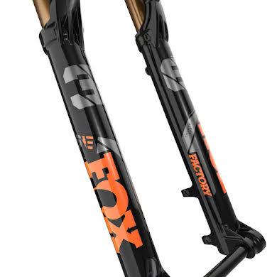 "Fox 36 E-Optimized Factory Suspension Fork - 27.5"", 140mm, 44mm Offset, Shiny Black, Grip 2 alternate image 0"
