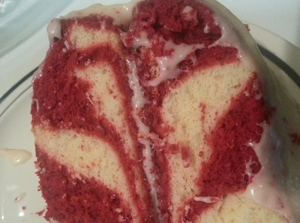 Strawberry Marble Cake Recipe