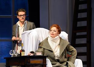 Photo: Wien/  Theater in der Josefstadt: AM ZIEL von Thomas Bernhard. Premiere am 12.3.2015.  Christian Nickel, Andrea Jonasson. Foto: Barbara Zeininger.