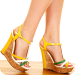 Wedges Shoes Design Icon