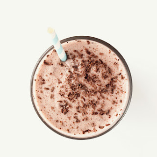 Chocolate Milkshake Protein Smoothie.