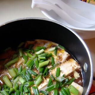 Quick Tofu Hotpot