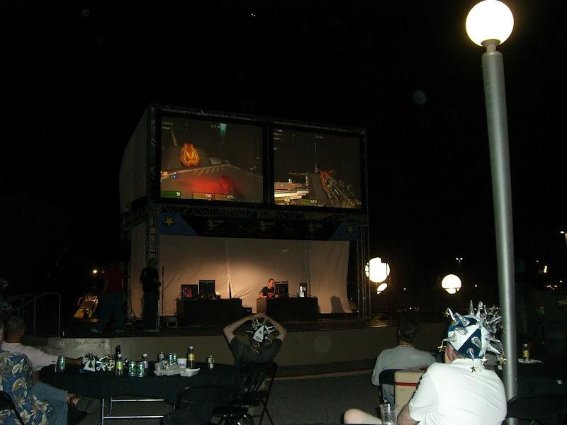 Photo: At Cisco Live watching Quake 3 Live
