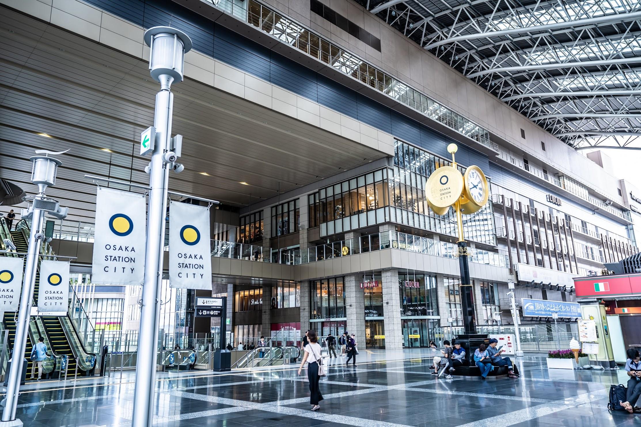 Osaka Station City Toki-no-hiroba Plaza2
