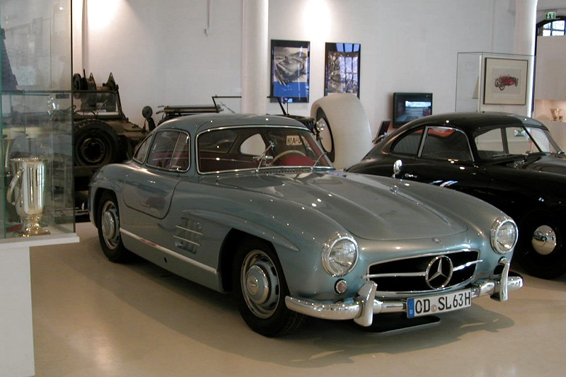 Photo: Wow, a Gullwing! Mercedes 300SL.