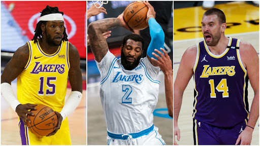 Lakers' center rotation creates intrigue, but they say they get along