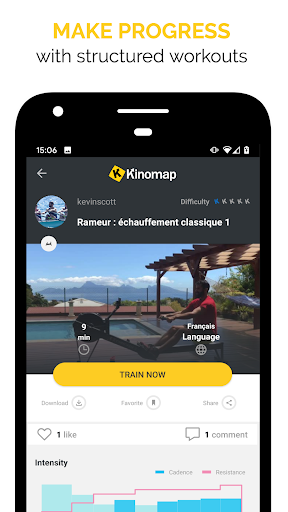 Kinomap - Indoor training videos screenshots 2