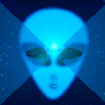 Runner in the UFO - Music Visualizer Premium