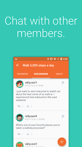 Rally℠ Screenshot