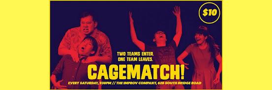 Cagematch #9 Weekly Improv Battle