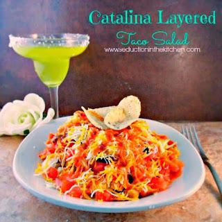Catalina Layered Taco Salad.