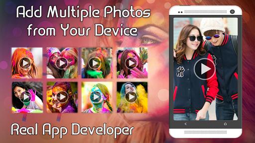 Happy Holi Video Maker 1.0.3 screenshots 3