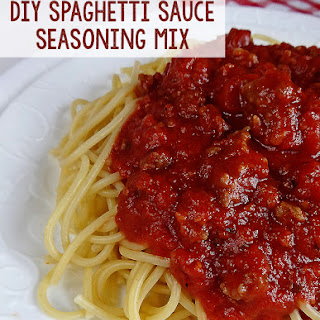 Spaghetti Sauce Mix Recipes