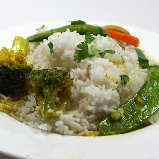 Coconut Curry Vegetables Rice Recipes