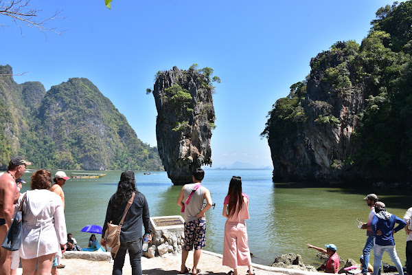 Hit the Nail Rock at James Bond Island