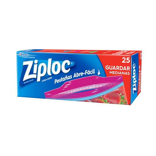 bolsas ziploc para guardar mediana 25 und