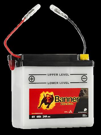 Banner Mc Batteri 6N4B-2A 6V 4Ah