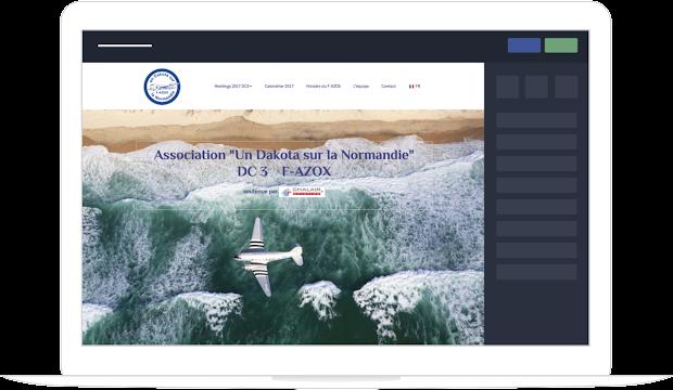 Construire site web professionnel