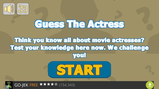 Guess The Actress