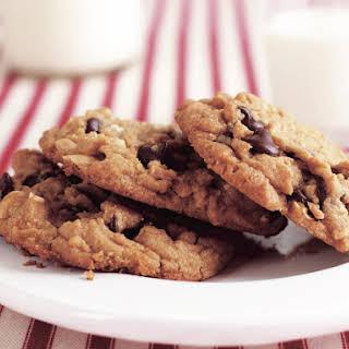 Peanut Butter Chocolate Chunk Cookies.