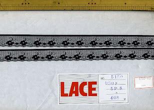 Photo: №5150-1ラッセル黒:巾18mm