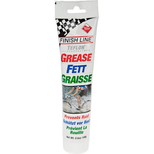 Finish Line Premium Grease with Teflon, 3.5oz Tube
