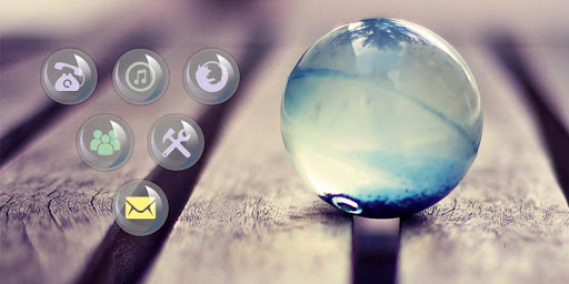 水晶球手機主題|玩個人化App免費|玩APPs