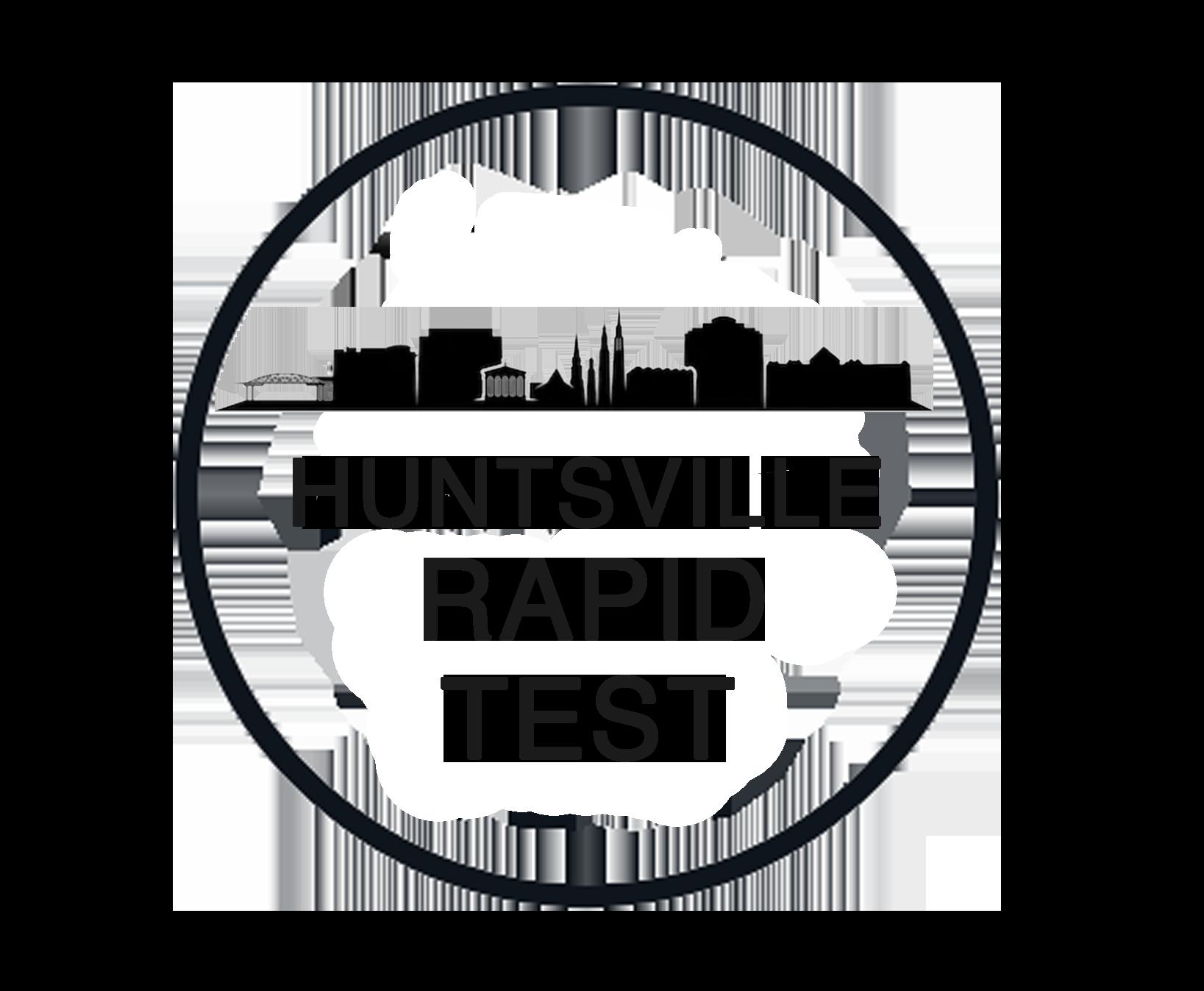 Huntsville Rapid Test logo