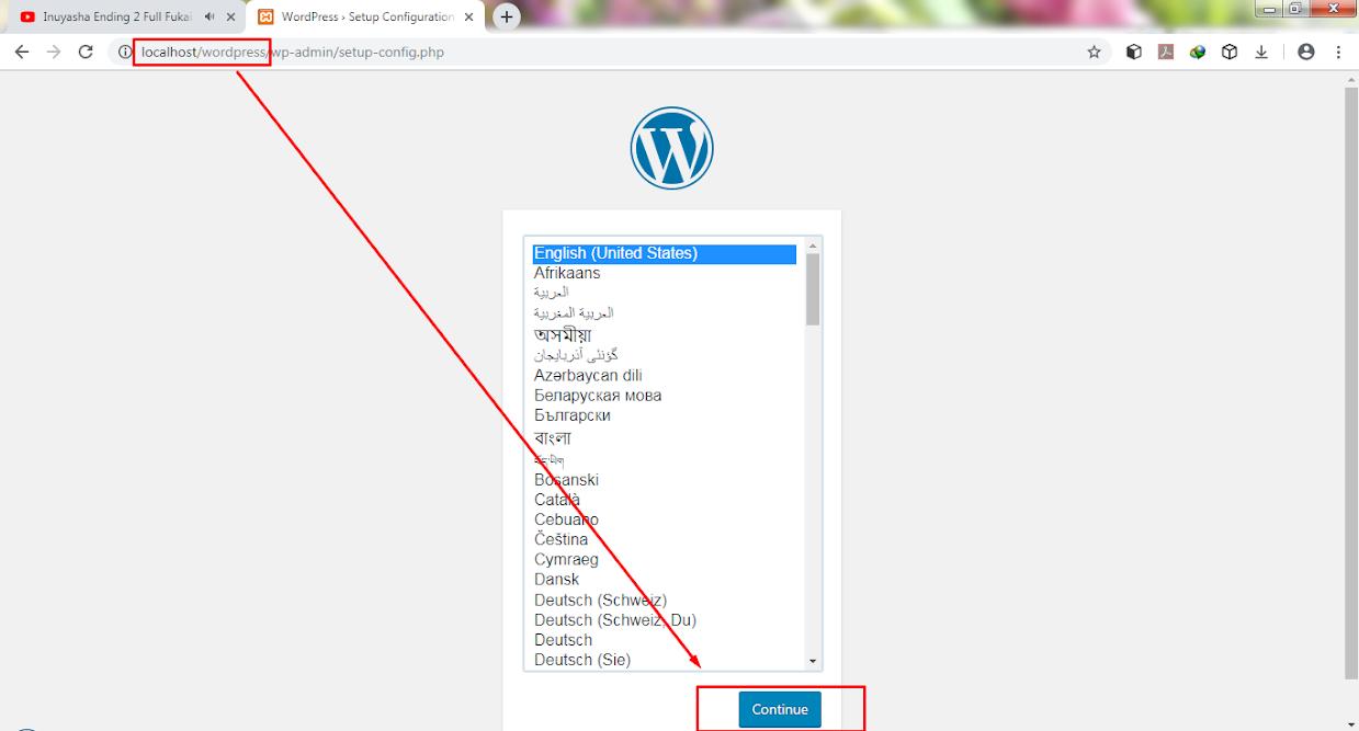 berikut adalah tutorial cara install wordpress dengan xampp