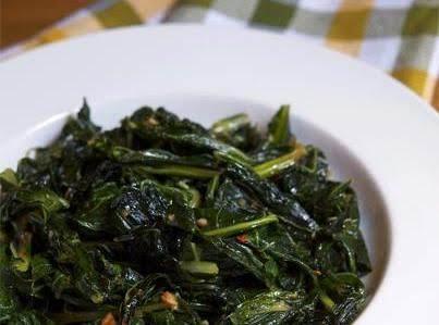 Stir-fried Collard Greens Recipe
