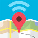 Wifimaps: free wifi +passwords icon