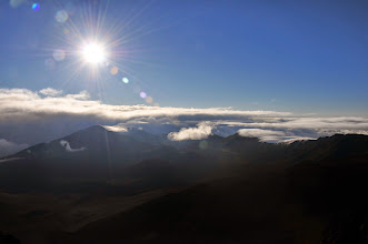 Photo: Going for a walk around and into the crater of Haleakala.