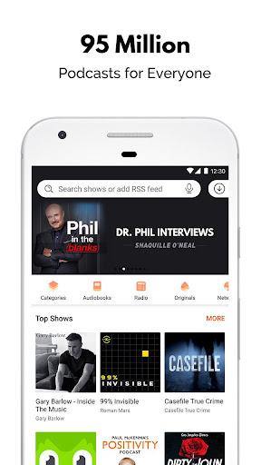 Podcast Player & Podcast App - Castbox 7.66.3-190513059 screenshots 1