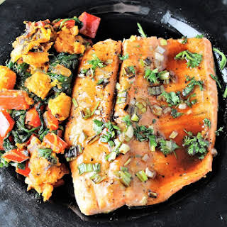 Maple Balsamic Rainbow Trout.