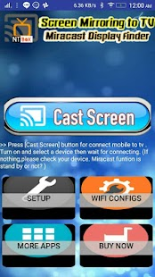 Screen Mirroring TV : Cast phone screen to TV- screenshot thumbnail