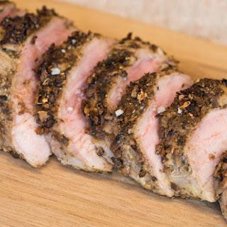 Porcini-Crusted Pork Tenderloin Recipe