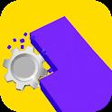 Color Smash Saw 3D icon