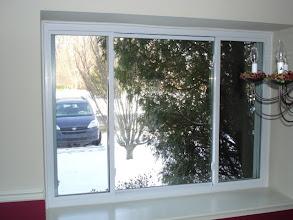 Photo: 3 section sliding window