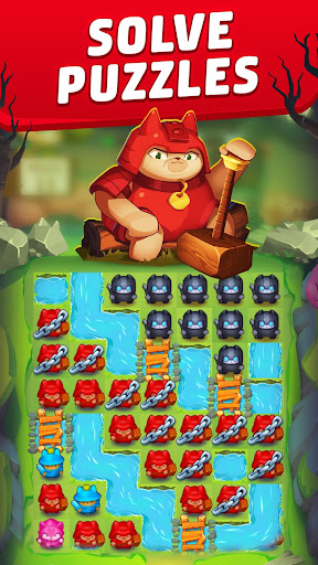 Cat Force - Free Puzzle Game apkpoly screenshots 1
