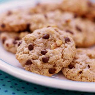 Barley-Oat Chocolate Chip Cookies.