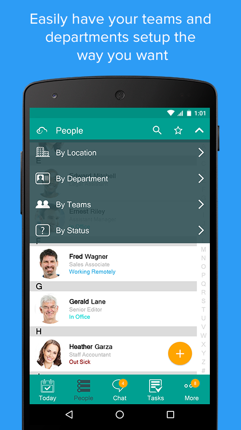Connect – Business Communication and Collaboration- screenshot